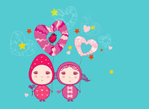 Fairy Valentine Stock Images