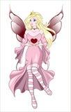 Fairy Valentines Royalty Free Stock Photos