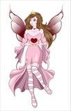 Fairy Valentines Stock Images