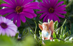 Fairy on vegetation Royalty Free Stock Photos