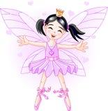 Fairy violeta pequeno Fotos de Stock Royalty Free