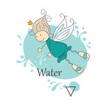 Fairy of water. Stock Photo