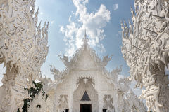 Fairy white temple Stock Image