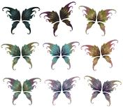 Fairy wings Stock Photos