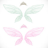 Fairy wings with tiara bundled Stock Photos