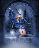 Fairy Winter Stock Image