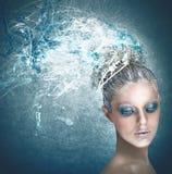 Fairy of Winter Stock Image