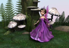 Fairy in Woodland Stock Photography