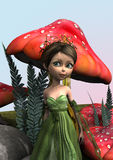 Fairy in Woodland Stock Photos
