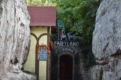 Fairyland Caverns at Rock City Gardens in Chattanooga, Tennessee Stock Image