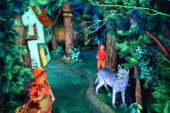 Fairyland Caverns at Rock City Gardens in Chattanooga, Tennessee Stock Photos