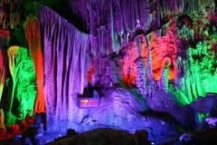 Fairyland diCina-Guilin-Nel sottosuolo Fotografia Stock