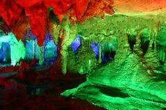 Fairyland diCina-Guilin-Nel sottosuolo Immagini Stock