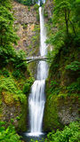 Fairyland Multnomah Falls. The most beautiful waterfall in the United States of America Royalty Free Stock Photos