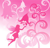 fairylandvektor royaltyfri illustrationer