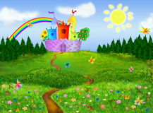 Fairytale background Royalty Free Stock Photography