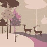 Fairytale background Stock Image
