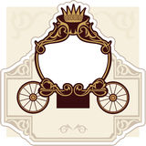 Fairytale carriage Stock Photo