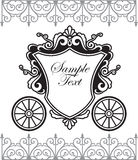 Fairytale carriage Stock Photography