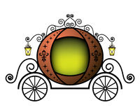 Fairytale carriage Stock Image