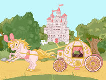 Free Fairytale Carriage Stock Photography - 25971582
