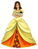 Fairytale cartoon character - illustration for the children Stock Photo