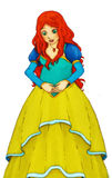 Fairytale cartoon character - illustration for the children Royalty Free Stock Photography
