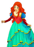 Fairytale cartoon character - illustration for the children Royalty Free Stock Photos