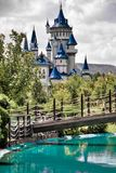 Fairytale Castle. At Eskisehir Sazova cultural public park,Turkey Royalty Free Stock Photos