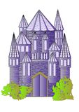 Fairytale castle Royalty Free Stock Photo