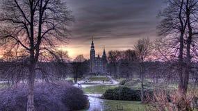 Fairytale Castle Royalty Free Stock Photography