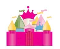 Fairytale Castle. Vector Illustration Royalty Free Stock Image