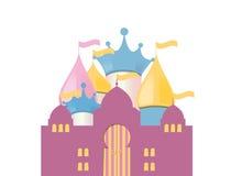 Fairytale Castle. Vector Illustration Stock Photo