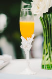 Fairytale Champagne Flute Royalty Free Stock Photo