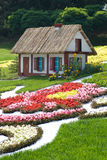 Fairytale cottage (Kiev, the Singing Field) Stock Photo