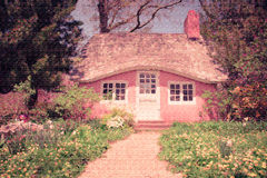 Fairytale cottage Royalty Free Stock Photo