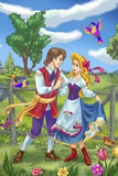 Fairytale couple Royalty Free Stock Images