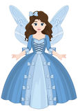 Fairytale Cute Little Magic Girl Royalty Free Stock Photo