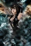 Fairytale - de Mooie Sexy Fee van de Hemel Royalty-vrije Stock Afbeeldingen