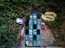 Fairytale door Art. Fairytale door, art and nature Stock Photography
