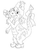 Fairytale dragon Royalty Free Stock Image