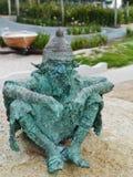 Fairytale dwarf statues Stock Image