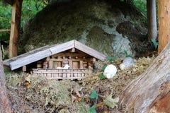 Fairytale figure im Pinzgau, Austria. Royalty Free Stock Image