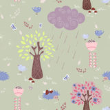 Fairytale forest Royalty Free Stock Image
