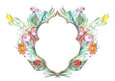 Fairytale frame Royalty Free Stock Image