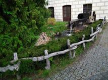 Fairytale garden Stock Images