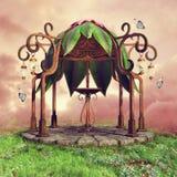 Fairytale gazebo on a meadow Royalty Free Stock Photos