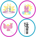 Fairytale Graphics Royalty Free Stock Photos
