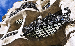 Fairytale house facade Casa Mila Stock Photography