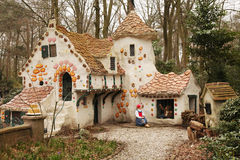 Fairytale house. Hansel and Grete fairytale house in de Efteling, an amusement theme park in the Netherlands Stock Photography